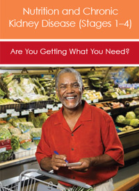 Nutrition and Chronic Kidney Disease Stage 1 to 4
